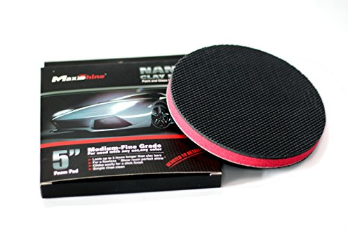 ABN Clay Bar Wipe 6in Medium Grade DA Polisher Pad for Cars
