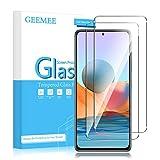 GEEMEE Per Realme X3 SuperZoom Vetro Temperato (2 Pezzi), Durezza 9H Protezione Schermo, Anti Graffi HD Trasparenza Protettiva Screen Protector Film(Transparente)
