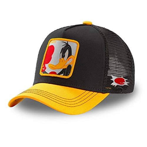 Gorra de béisbol de algodón Snapback para Hombres y Mujeres-Duck Yellow