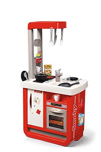 Smoby- Cuisine et ses accessoires, Color rouge (310819) , color/modelo surtido