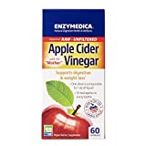 Enzymedica, Apple Cider Vinegar, Healthy Weight and Digestive Support, 60...