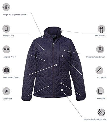 SCOTTeVEST Women's OTG Jacket - 29 Pockets - Pickpocket Proof BLK M