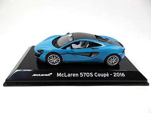 OPO 10 - Auto 1/43 Compatibile con McLaren 570S Coupe 2016 (SC23)