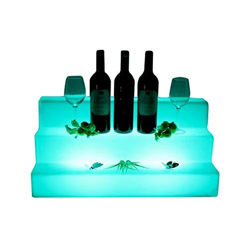 Accessoires de bar, Plastique, turquoise, Tiered Wine Rack