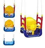 Izzy Baby-Schaukel 3-in-1 Kinder mitwachsend, Abnehmbarer Bügel, Schaukelsitz (3-in-1 Kinder Schaukel Kleinkind mitwachsend)