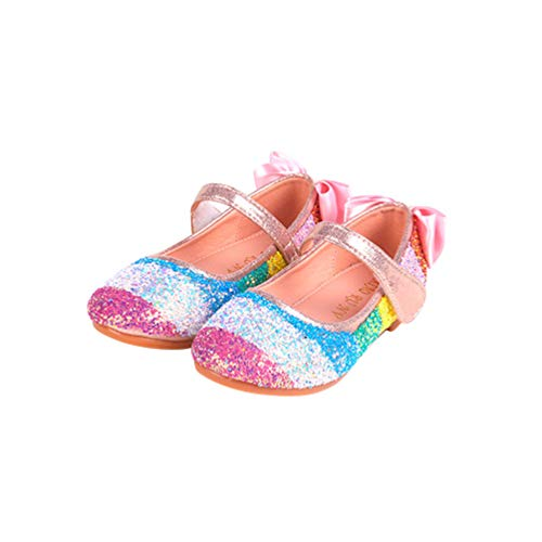 Healifty 1 par de Zapatos de Ballet para Niña Zapatos de Vestir...