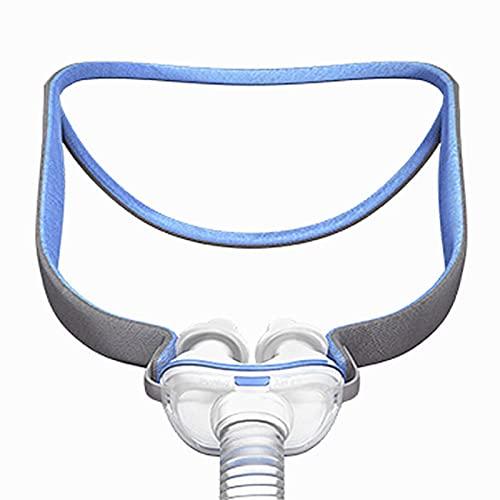 Gidenfly Nasenschutz Kopfbedeckung, Atemgerät Nasenschutz Kopfbedeckung Elastischer Nasenschutz Nasenmaskenband Für Nasenpraktik Atemgerät Für Air Fit