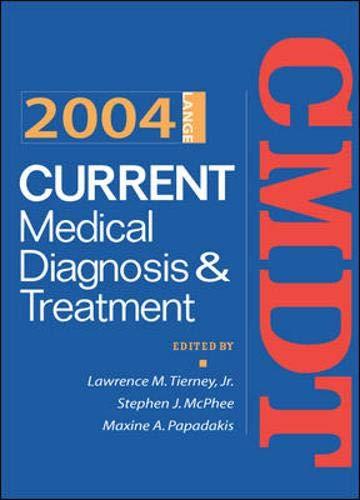 Current Medical Diagnosis & Tre…