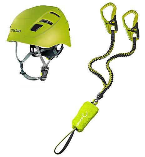 EDELRID Klettersteigset Cable Comfort 5.0 + Kletter-Helm Zodiac