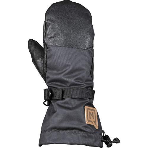 Nitro Snowboards Erwachsene Method Mitt '19 Snowboard Handschuh Winter Warm Wasserabweisend Ski Fäustling Gloves, Black, XL