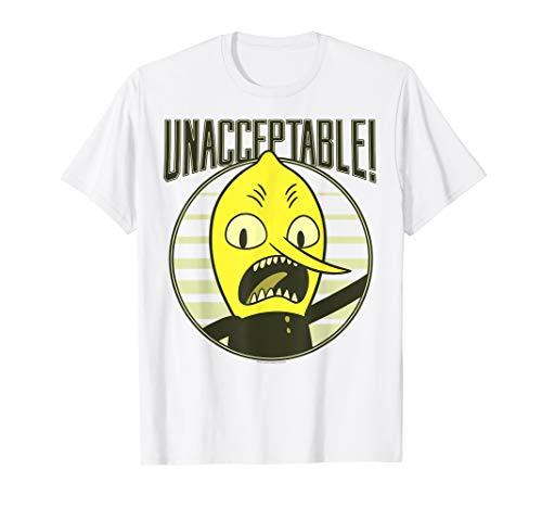 CN Adventure Time Lemongrab Unacceptable T-Shirt