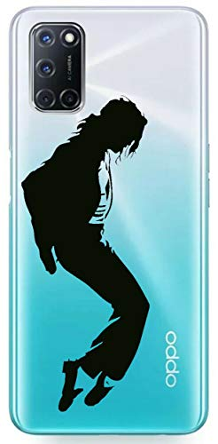 Mixroom T549 Schutzhülle für Oppo A52, Motiv Michael Jackson Profil 2