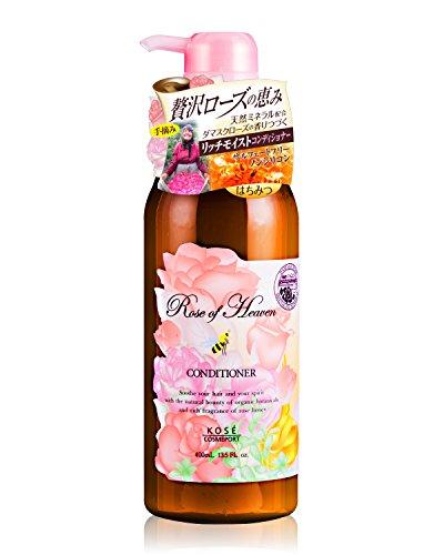 KOSEコーセーローズオブヘブンコンディショナーノンシリコン400ml(バラの香り)