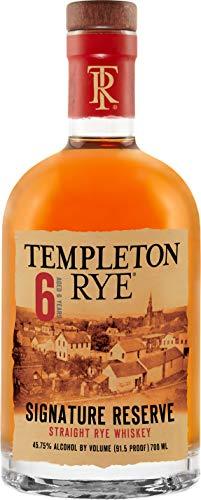 Templeton Rye Whiskey 6 Year , Roggen-Whiskey 45.75% vol.,