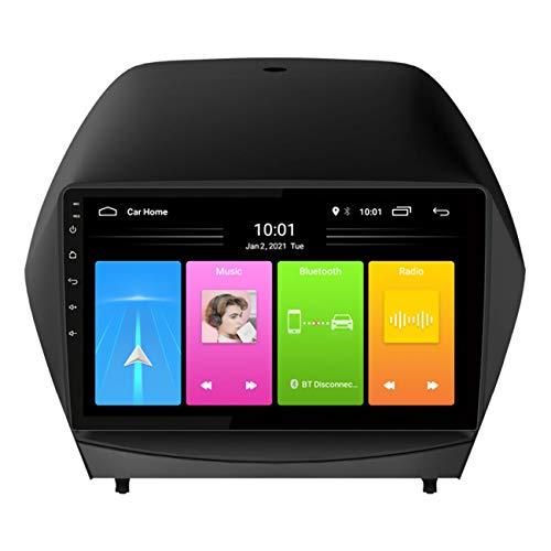 Navegación de coche, GPS para coche de 9 pulgadas Android 10 para Hyundai ix35 2010-2013, reproductor de Radio Multimedia, compatible con reproducción de vídeo 1080P,Wifi 1g+16g