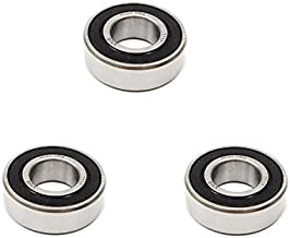 3x 1630 2RS Rubber Sealed Deep Groove Ball Bearings - 3/4