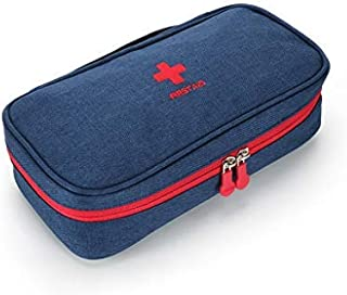 LHQ-HQ First Aid Box Pocket First Aid Kit, Small Compact First Aid Kit Bag - Perfect For Home, Hiking, Car, Camping Housew...
