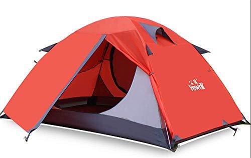 DIRUIDA Hamac Extérieur Portable 290 X 145 Cm Crème Solaire Moustiquaire Charge 200 Kg Anti-Pluie Camping Simple Balançoire Double Chaise