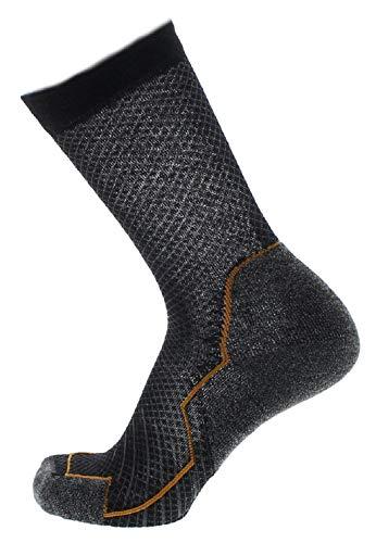 Lowa Trekking Schwarz, Merino Socken, Größe EU 43-44 - Farbe Schwarz