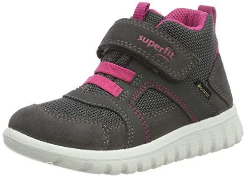 Superfit Baby-Girls Sport7 Mini Gore-Tex-50919821 Sneaker, Grau (Grau/Rosa 21), EU