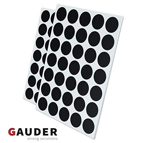 GAUDER 70x Magnetpunkte selbstklebend   Magnetplättchen   Magnet-Plättchen für Fotos, Postkarten...