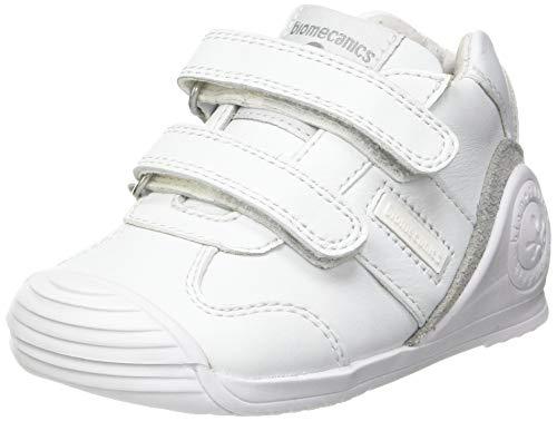 Biomecanics 151157, Zapatillas Unisex niños, Blanco (Super Soft), 19 EU