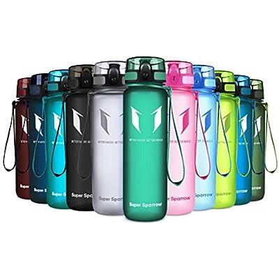 Non-Toxic BPA Free /& Eco-Friendly 500ml Super Sparrow Sports Water Bottle