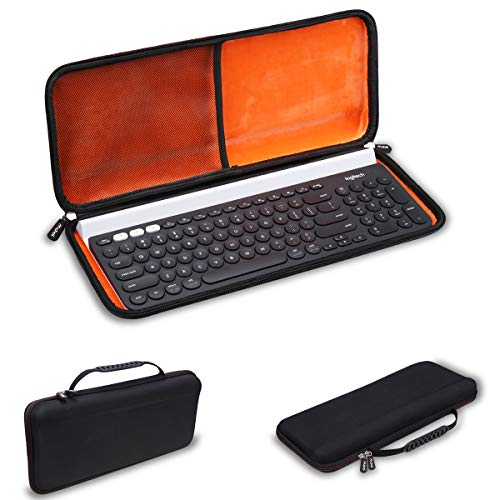 Mchoi Hard Portable Case Compatible with Logitech K780 Multi-Device Wireless Keyboard(Case Only)