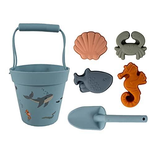 YiPong Juguetes de arena para bebés Juego en playa Playa/Piscina Tiempo de excavación para niños de 1 a 3 años Cajas de arena coloridas para bebés de 6 a 12 meses juguetes de arena