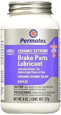 Permatex 24125 Ceramic Extreme Brake Parts Lubricant, 8 oz., Pack of 1