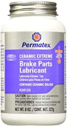 top 10 caliper greases Permatex 24125 Ceramic Extreme Brake Parts Lubricant, 8 oz, 1 pc