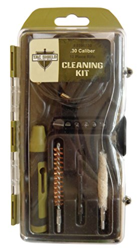 Tac Shield .30 Caliber Rifle Cleaning Kit (12-Piece)