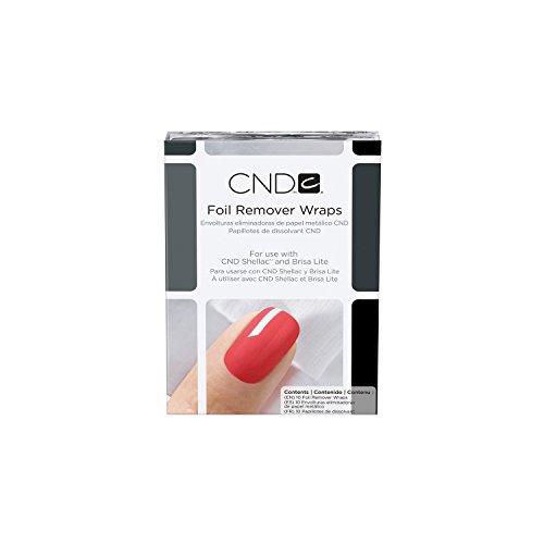 CND Shellac Foil Remover Wraps 10 Stück, 1er Pack (1 x 10 Stück)