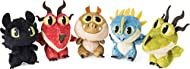 HATCH A PLUSH DREAMWORKS DRAGON: Crack open a plastic dragon egg to find an adorable, 3-inch tall plush creature from DreamWorks' How to Train You Dragon: The Hidden World! Your new friend fits in the palm of your hand and is ready to be your magical...