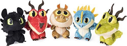 Dragons Oeuf en Peluche Dragon, Modèle Aléatoire , 1 Unité