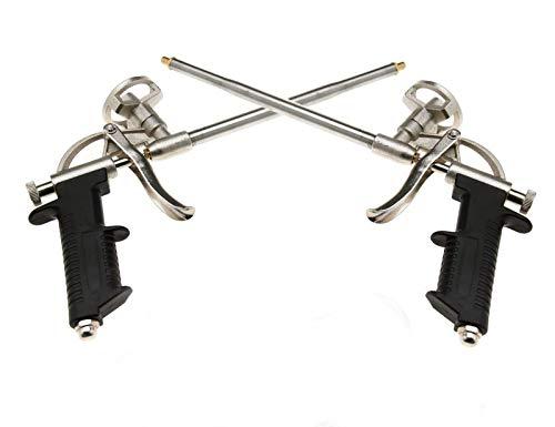 Pair of Pu Expanding Caulking Gun Foam Gun Foam Dispensing Guns Aluminum Sprayer PU Grade Expanding Spray Applicator