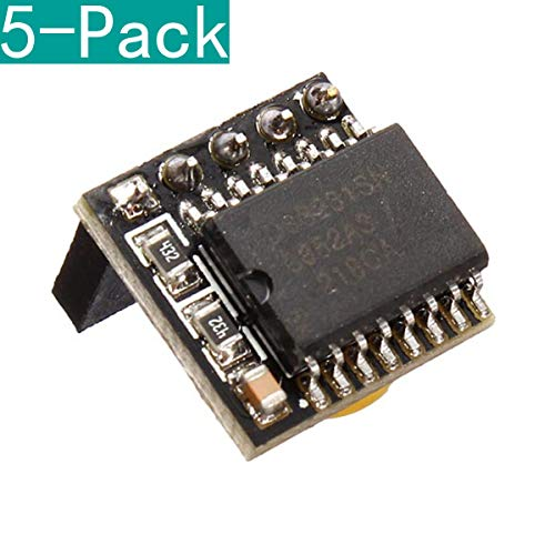 Youmile 5 Pack DIY DS3231 Precision RTC Clock Memory Module for Arduino Raspberry Pi