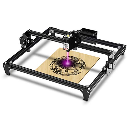 Totem Desktop Engraver Portable Engraving Carving Cutting DIY Machine 400x430mm 20w Machine Input Power, 5.5w Laser Head