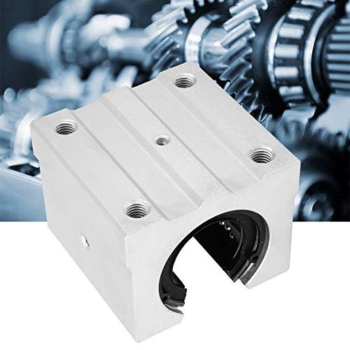 Bloque deslizante de cojinete lineal, SBR40UU Bloque deslizante de cojinete de movimiento lineal abierto Deslizador de cojinete lineal de aleación de aluminio