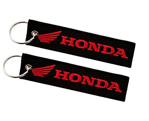 Doppelseitiger Schlüsselanhänger für Honda Modelle (1 Stück)