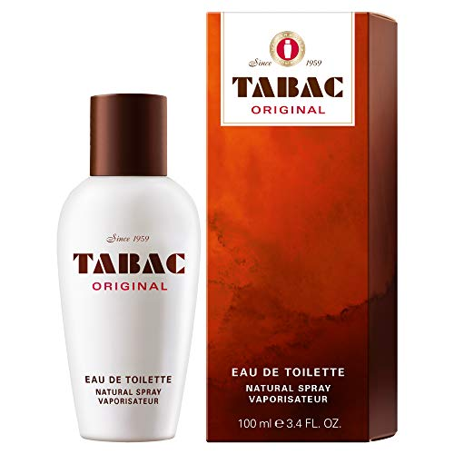 Tabac® Original I Eau de Toilette - Original Seit 1959 - männlich, markant und unverwechselbar - zeitloser Männerduft I 100ml Natural Spray Vaporisateur