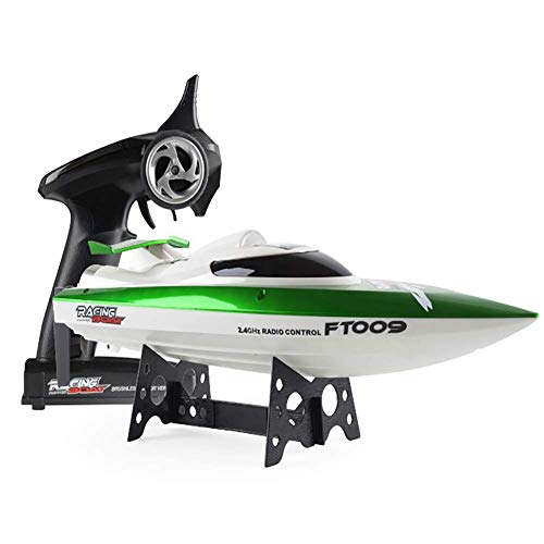 FATSW High Speed Ferngesteuertes Boot RC Boot, 30KM/H 2,4 GHz Funkfernsteuerung Automatischer Flip für Erwachsene & Kinder für Pool & Outdoor