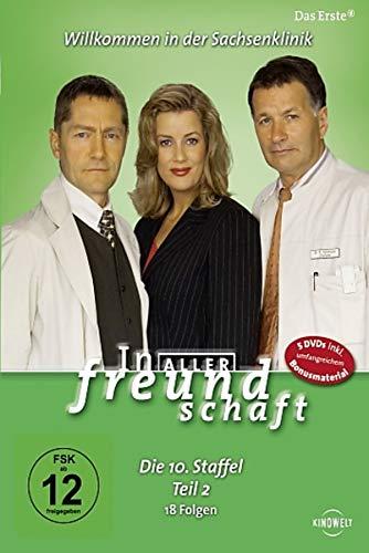 In aller Freundschaft - Die 10. Staffel, Teil 2, 18 Folgen [5 DVDs]
