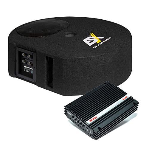 I-SOTEC Auto/KFZ Plug & Play Upgrade Soundsystem (Subwoofer+Endstufe) DBX kompatibel mit VW Volkswagen - IIII - Mediadox