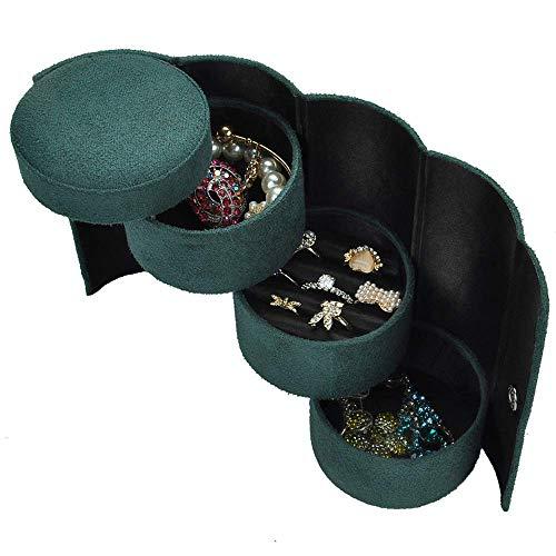Squisiti contenitori di monili dell'organizzatore del gioiello del cofanetto di modo del regalo di nozze regalo di compleanno