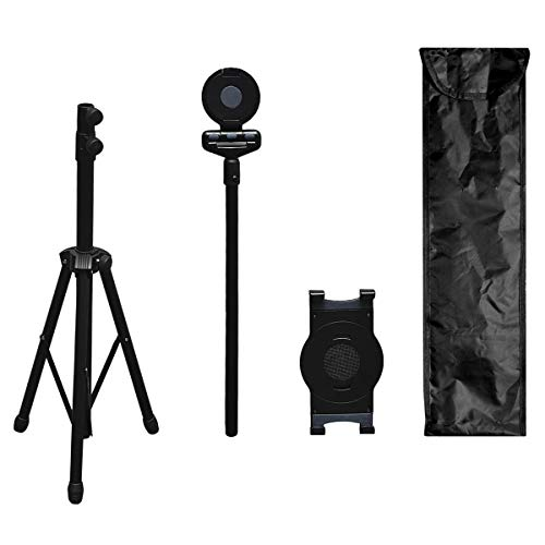 Statief Stand Universele Verstelbare Hoogte Mount Houder Vloerstandaard Houder voor Tablets, Projector, Selfie, Bladmuziek Boek,Telefoon,Met Tas