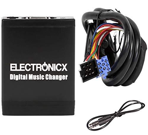 Elec-M06-VW8D Digitaler Auto-Musik-Wechsler USB MP3 AUX SD CD-Adapter passend für VW Skoda Audi