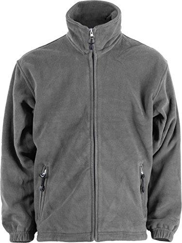 Terratrend Job 0605–5x l-6400Größe 5X Große Fleece Jacke–Anthrazit