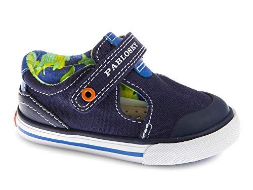 Zapatillas De Lona Niño Pablosky Azul 960821 21