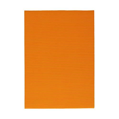 TTS Standard 1/1 - Cartón ondulado para manualidades, color amarillo dorado